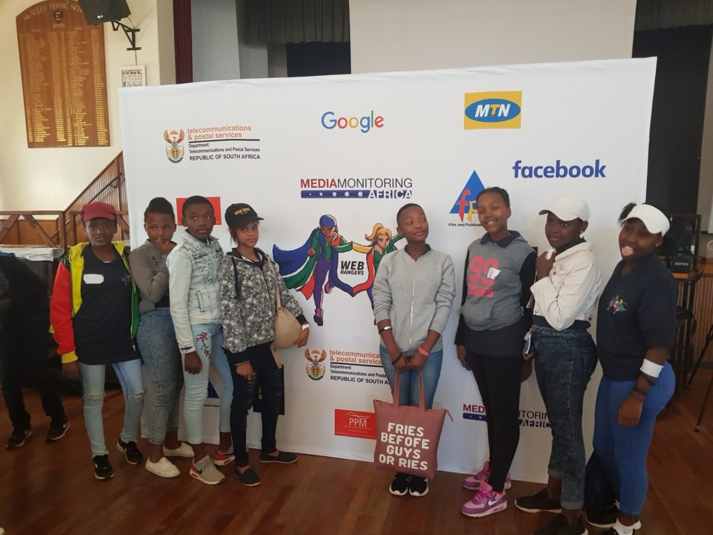 Web Rangers from different schools at the workshop