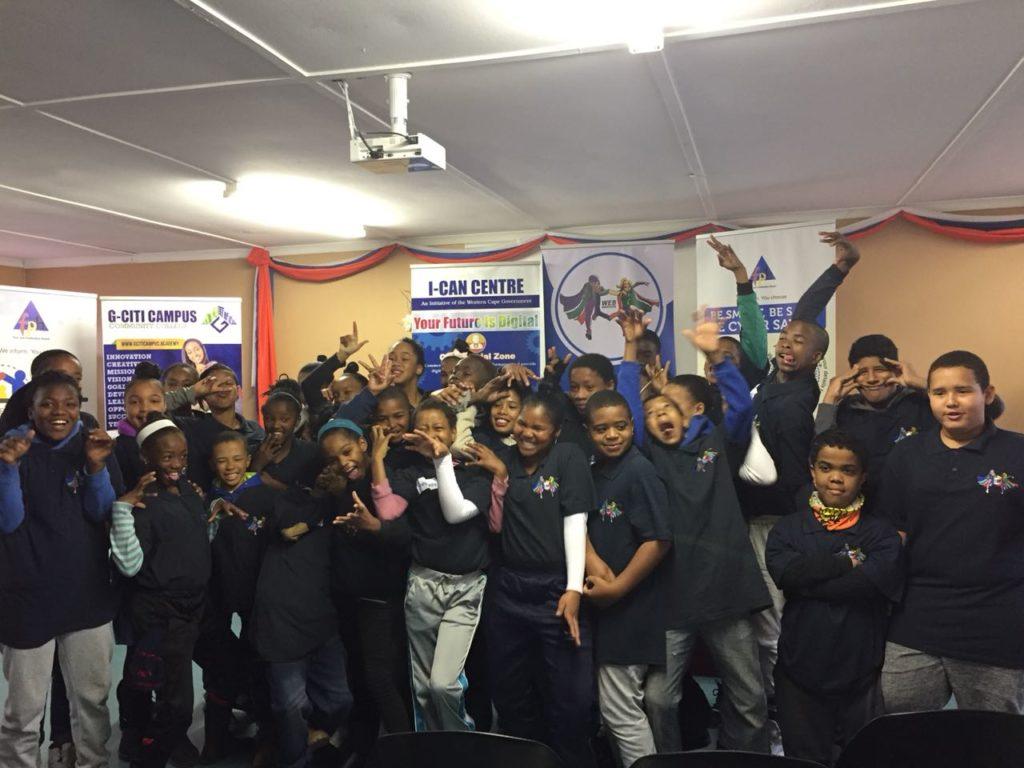 Web Rangers workshop in Cape Town 2